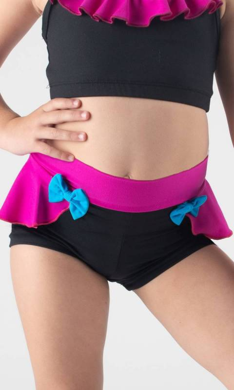 WILLOW SHORTS - Frill and bows  Dance Studio Uniform