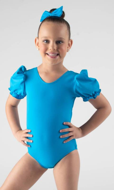 PUFF SLEEVE LEOTARD  Dance Studio Uniform
