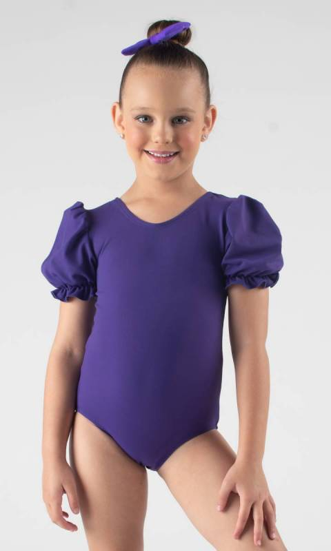 PUFF SLEEVE LEOTARD  Dance Costume
