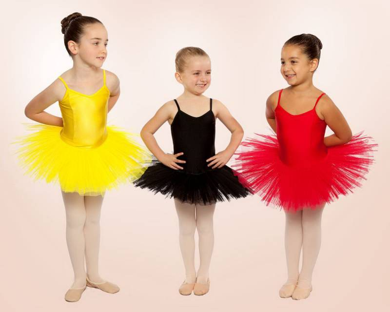 Princess Line Tutu CHTU01 - Black