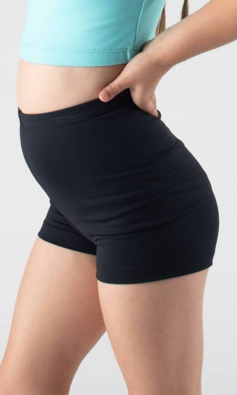 HI WAIST SUPPLEX SHORTS  Dance Studio Uniform