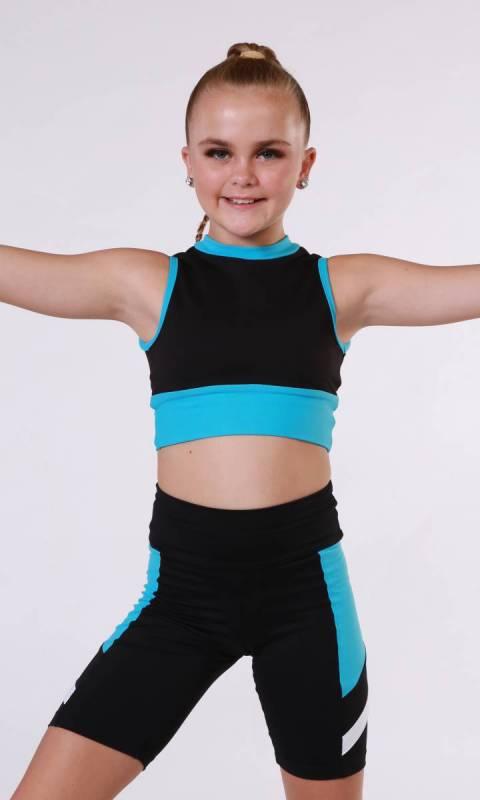 ALPHA - BIKE SHORTS  Dance Costume