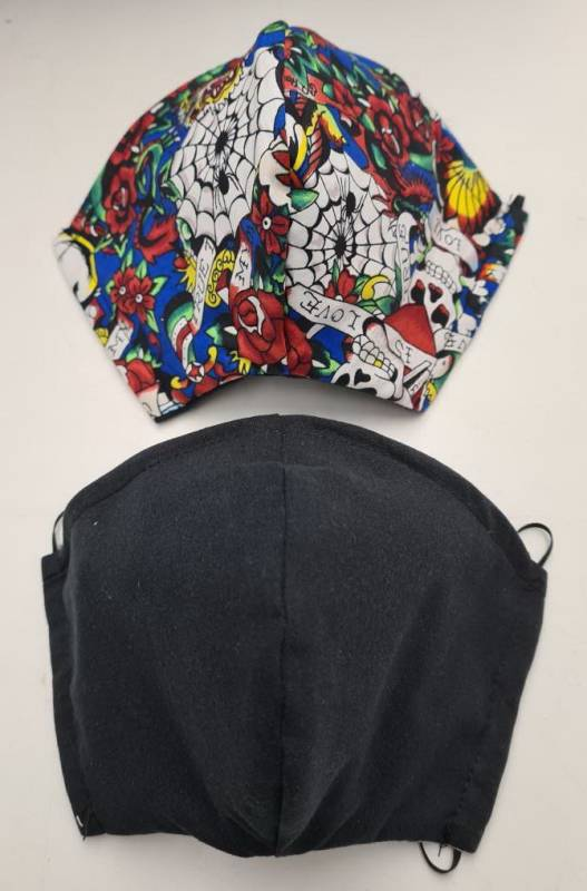 3 ply Mask Cotton Dance Costume