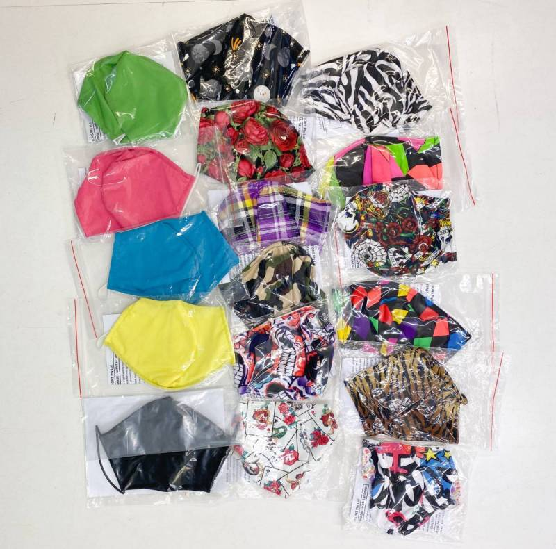 FACE MASK PACK OF 10  ASSORTED LUCKY DIP Dance Costume