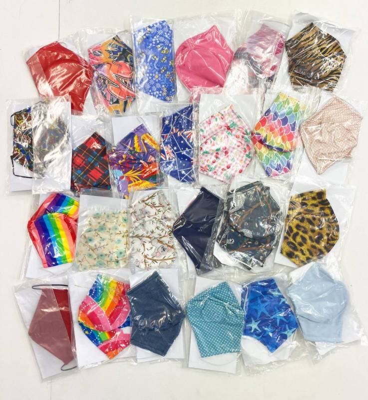 FACE MASK 10 PACK -  LUCKY DIP ASSORTED Dance Costume