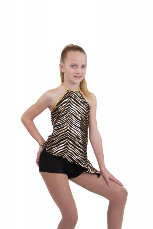 EYE OF THE TIGER TOP - Tribal Dance Costume