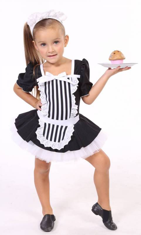 BE MY GUEST + headband  - Black and white lycra with lace and white tulle