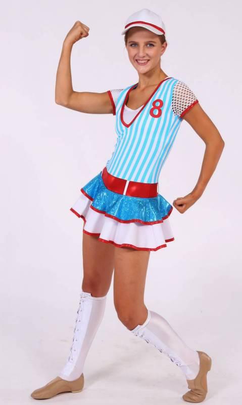 ALL STARS - baseball Dance Costume