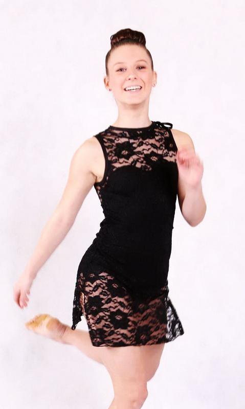 Black Lace Spandex
