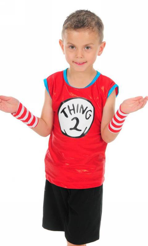Thing 1 and 2 Dance Costume