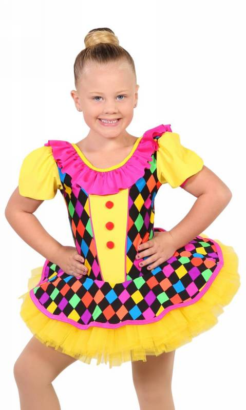CLOWN DOLL Dance Costume