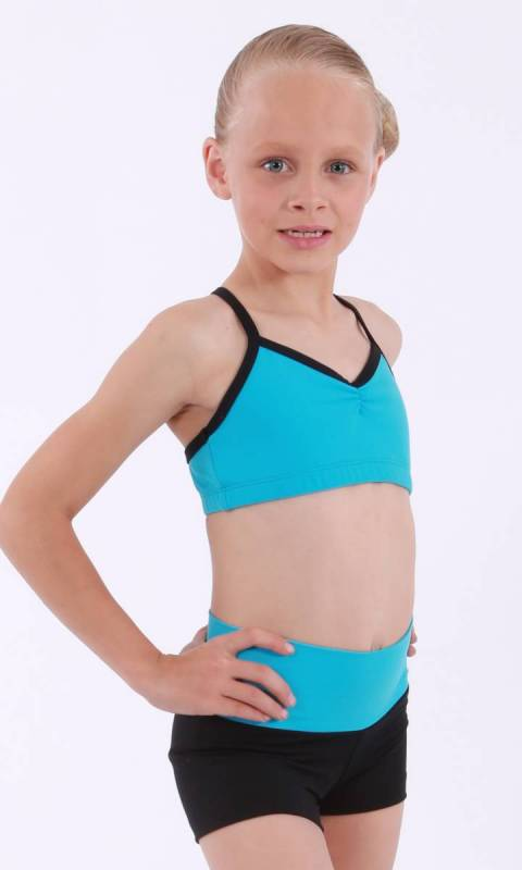 CHARLOTTE - Crop Top Dance Studio Uniform