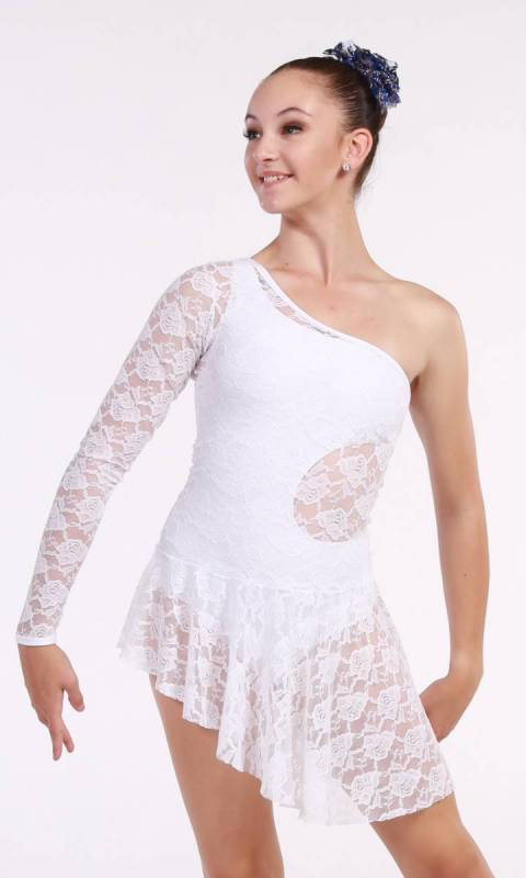 FOREVER LACE OVERLAY - White