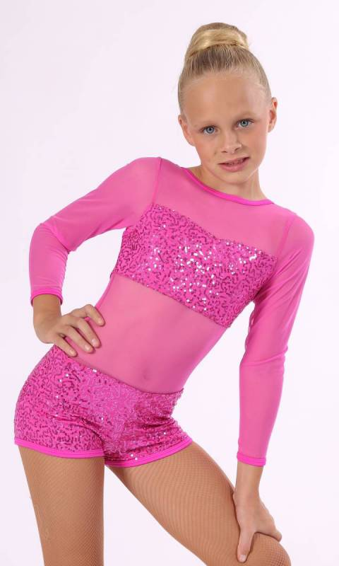 JACKIE DAZZLE SHORTARD Dance Costume