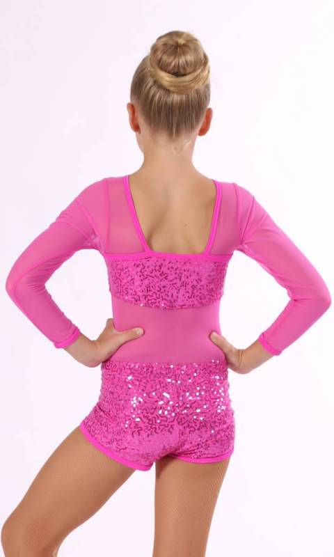 JACKIE DAZZLE SHORTARD - Hot Pink