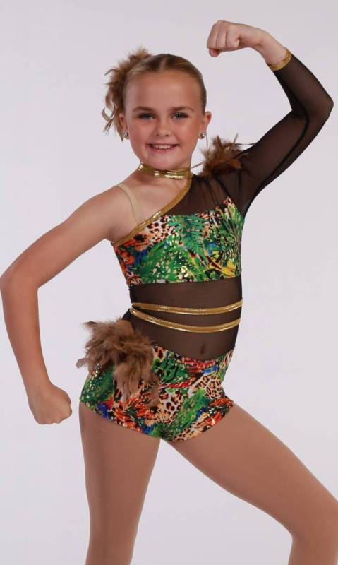 TROPICAL JUNGLE  - Tribal Dance Costume