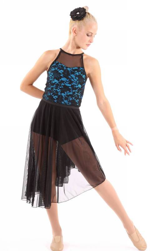 ADELE SHORTARD  - Ming Blue and Black  PICTURED WITH ALLEGRA SKIRT IS SOLD SEPARATELY