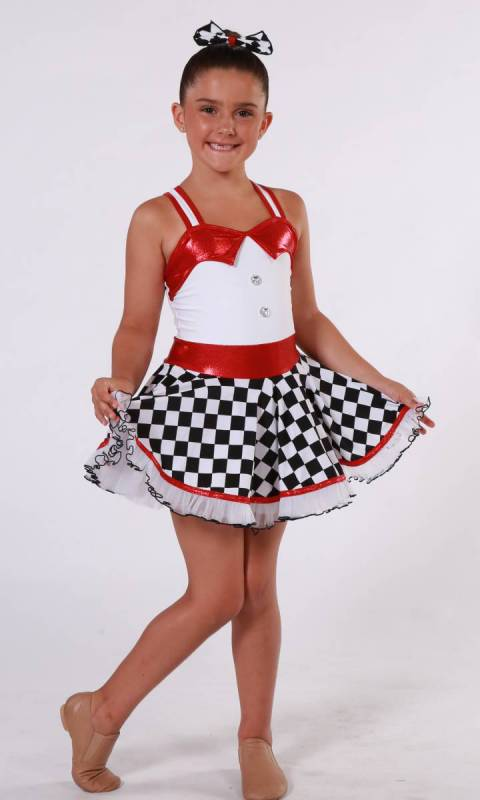 ROUTE 66 + Hair Bow Dance Costume