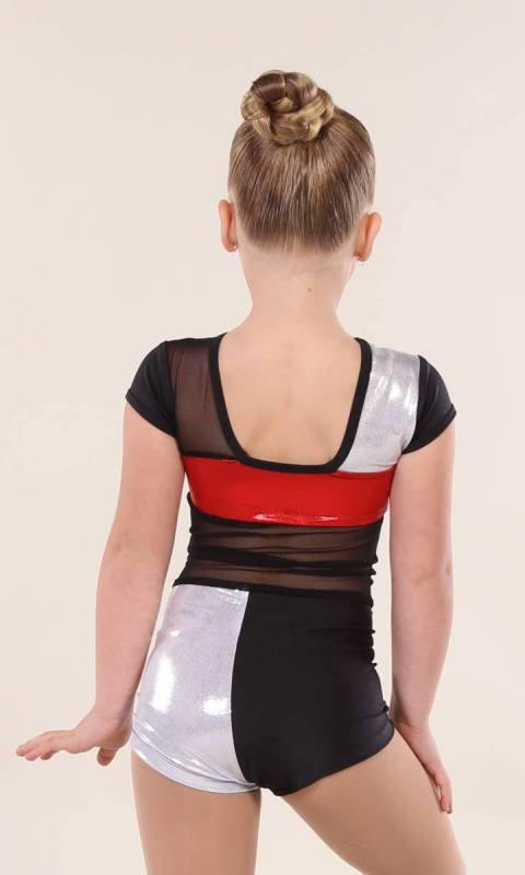 FLASHBACK shortard  - Silver, Red and Black