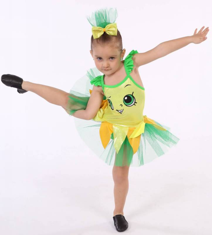 PINEAPPLE PRINCESS  - Yellow and Green