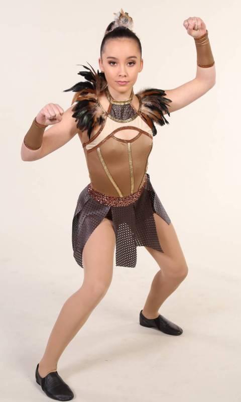 ZENA - Warrior Princess - Tribal Dance Costume