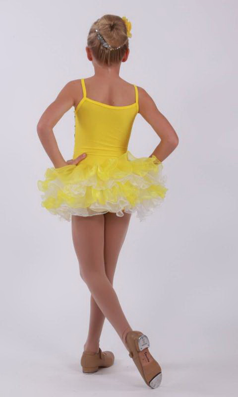 TAPPY TOES -  BRIGHTS - Yellow and White
