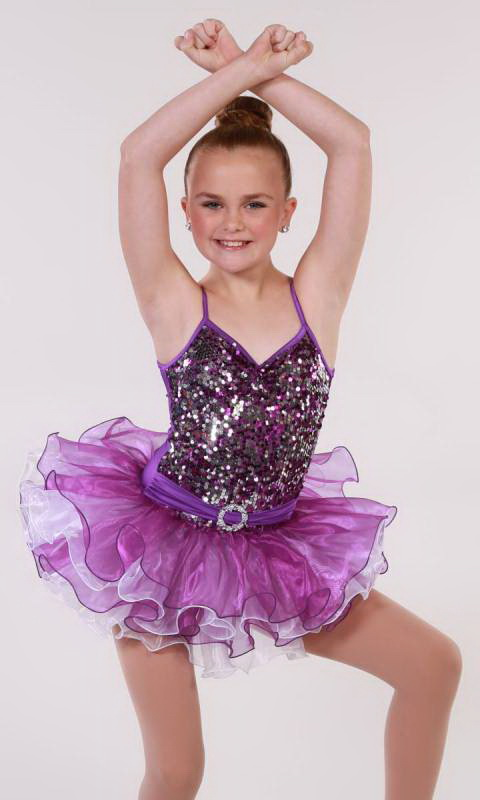 TAPPY TOES -  BRIGHTS Dance Costume