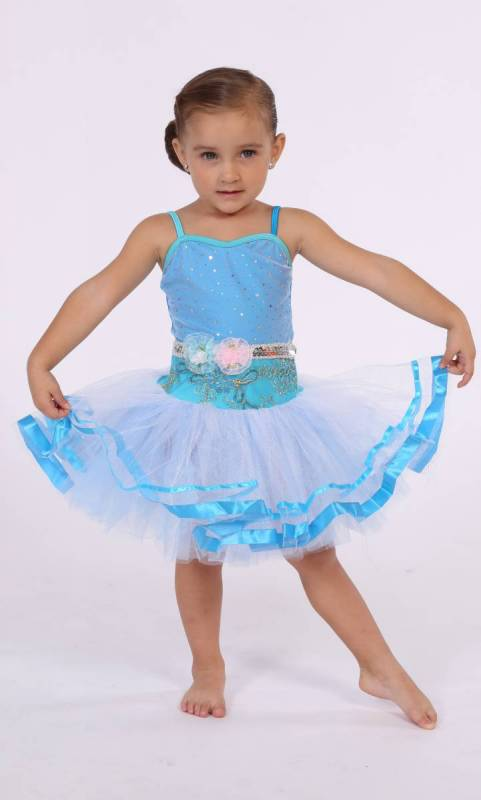 ELISE - Soft tutu  - Blue and White