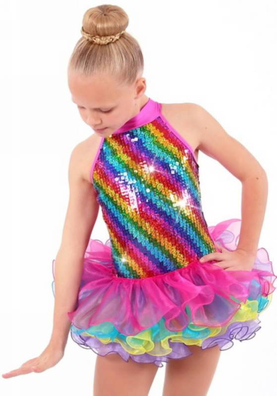 RAINBOW COLOURS  Dance Costume