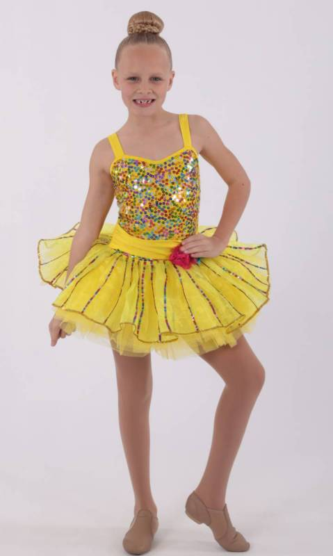 HONEY PIE  - yellow and multi colour sequins