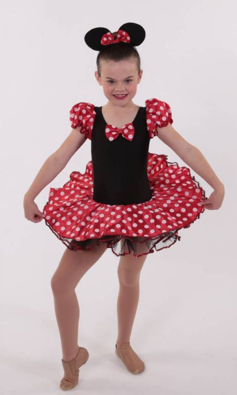 Minnie  - Black and red