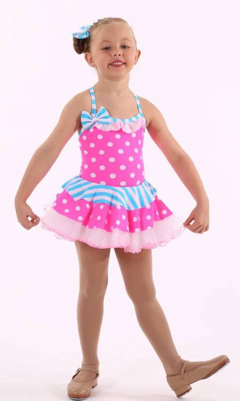 LALA LOOPSY  - Pink Aqua and white