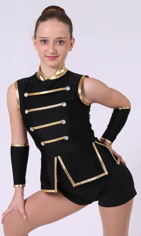 SEVEN NATION - top and armbands Dance Costume