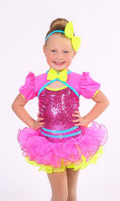 BARBIE + hair bow Dance Costume