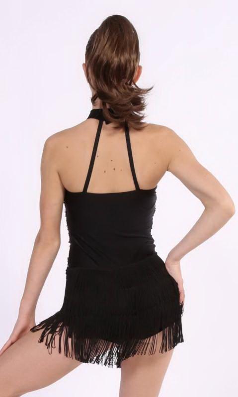 Black with Black sequins