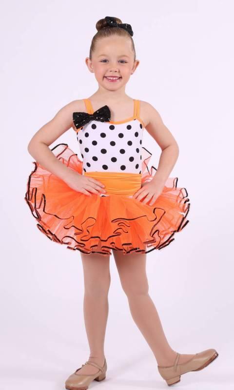 HOKEY POKEY  - White Black and Orange