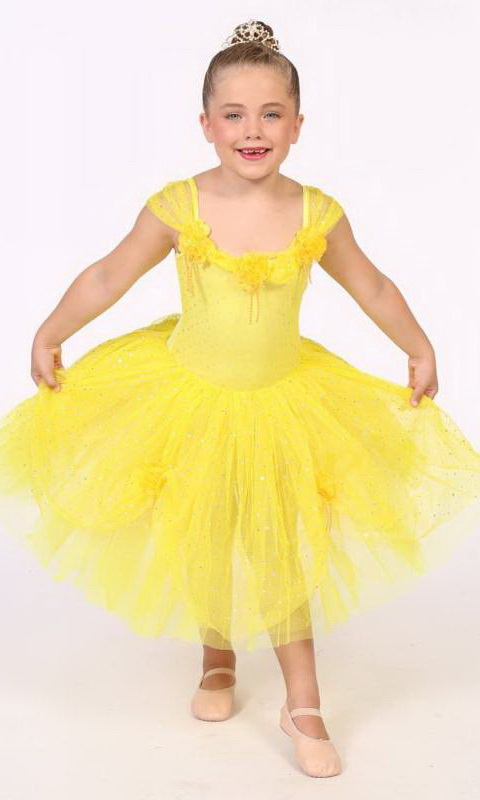 BELLE  Dance Costume