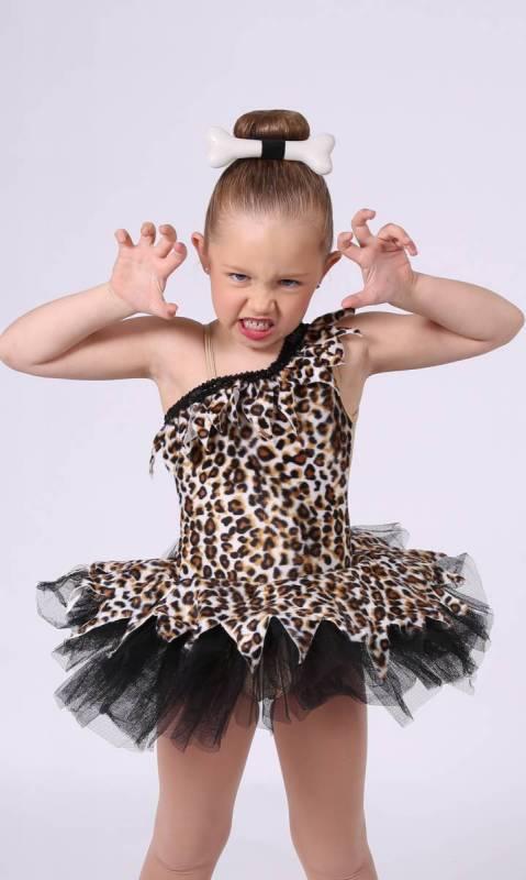 BAM BAM - Leopard print Velvet  and black