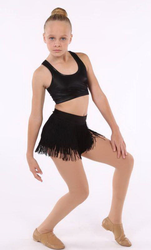 FRINGE SHORTS  Dance Costume
