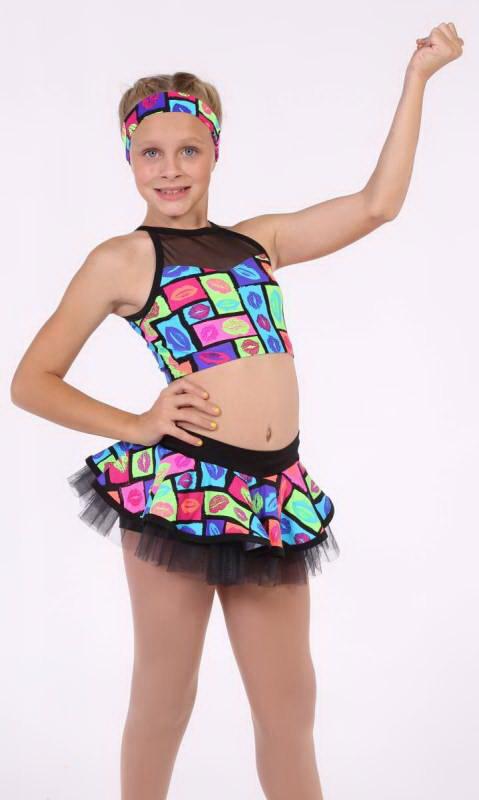 LIPS ARE MOVIN - POPSTAR Dance Costume