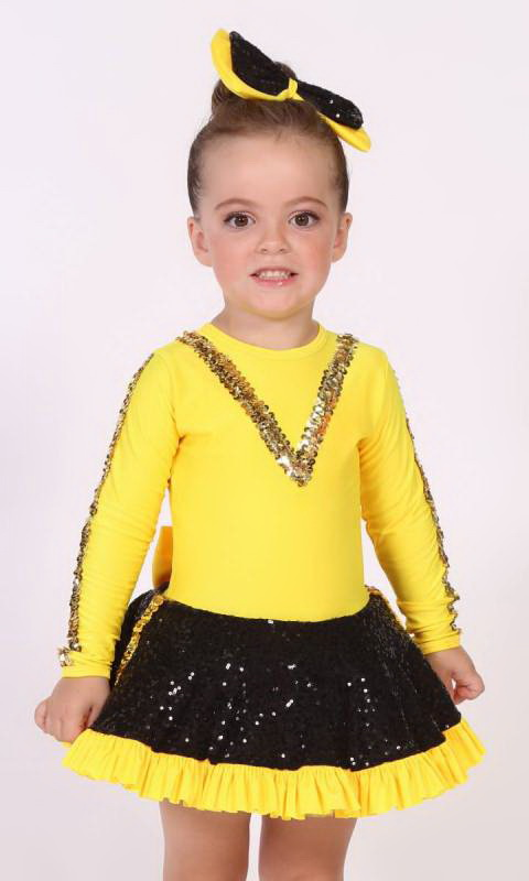 WIGGLY PARTY  Dance Costume