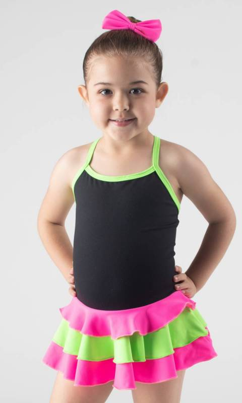 BABY LEO - 3 layer skirt SUPPLEX Dance Studio Uniform