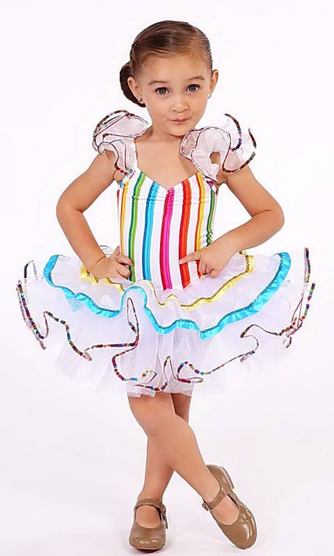 CANDYMAN  - Candy stripe and white tulle