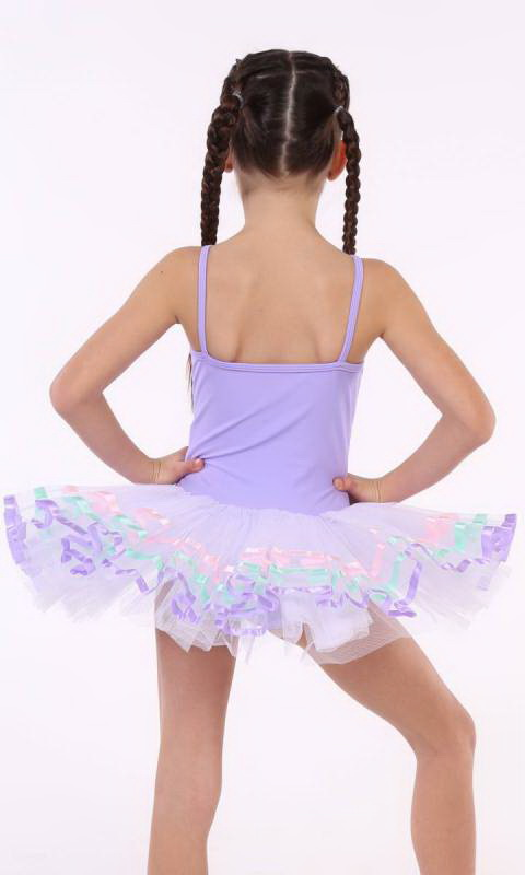 MAGIC TUTU  - Lilac and white