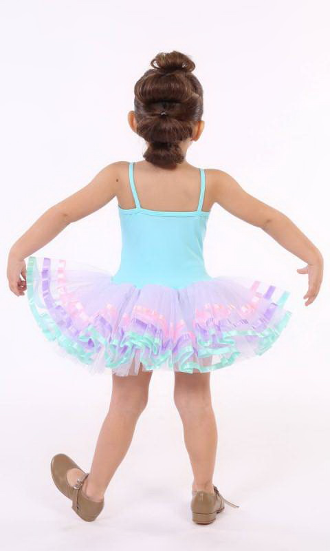 MAGIC TUTU  - Mint Green and white