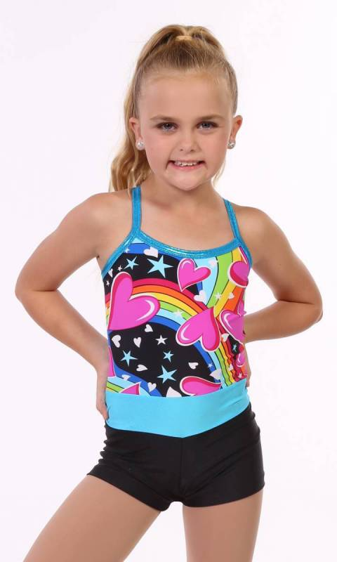 Heartspin Shortard  Dance Costume