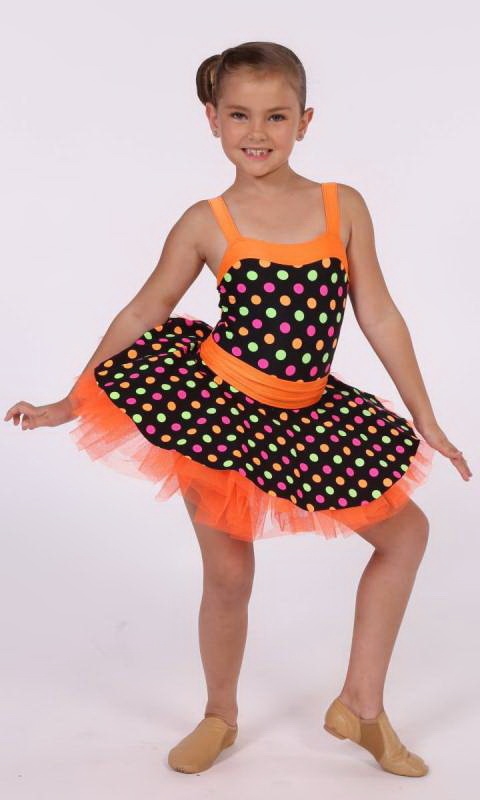 DOTS AND SPOTS Dance Costume