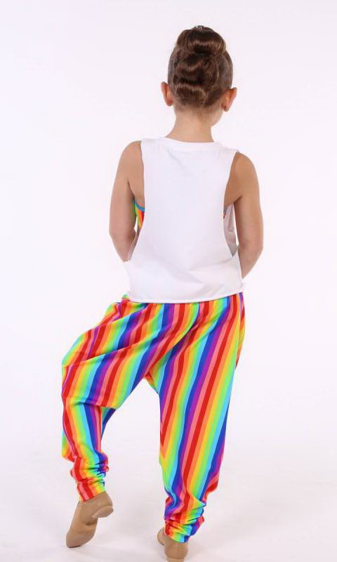 HI HAMMER - MULTI COLOUR STRIPES - MULTI-STRIPE LYCRA