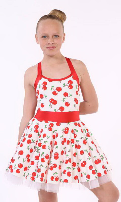 ROCKABILLY  - White/Red Polka Dot