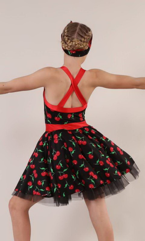 ROCKABILLY  - Black/Red Cherry